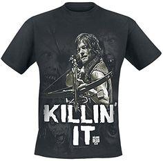 The Walking Dead Killin it Männer T-Shirt schwarz, Größe:S