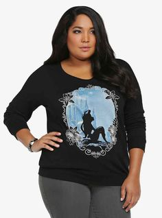 This sweatshirt that's almost as magical as the Little Mermaid's voice.