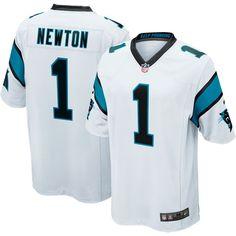 ad2d33391 Nike Men s Away Game Jersey Carolina Cam Newton  1