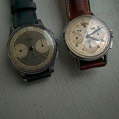 UG jumbo couple 37 mm  universalgeneve  vintagechronograph  tricompax   compur 70213d846e