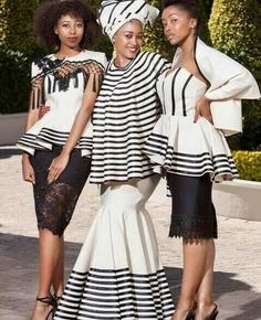 African Fashion – Designer Fashion Tips African Traditional Wear, African Traditional Wedding Dress, Traditional Wedding Attire, African Wedding Dress, Traditional Fashion, Traditional Outfits, Traditional Weddings, Xhosa Attire, African Attire