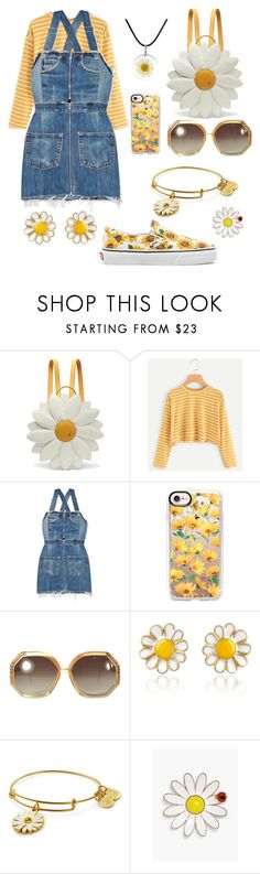 """Creation #123"" by katlaura ❤ liked on Polyvore featuring Charlotte Olympia, RE/DONE, Casetify, Ted Lapidus, AZ Collection, Talbots and Vans"