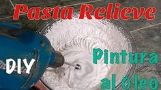 Tutorial: cómo elaborar la pasta de textura casera - YouTube Paper Bead Jewelry, Do It Yourself Crafts, Cake Decorating Tools, Paper Clay, Cold Porcelain, Diy Videos, Painting Techniques, Diy Tutorial, Art Lessons