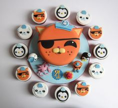 Inspired Image of Octonauts Birthday Cake Octonauts Birthday Cake Octonauts Birthday Cake Koala Cakes Koala Cakes 4th Birthday Cakes, 5th Birthday Party Ideas, Novelty Birthday Cakes, Third Birthday, Kid Cupcakes, Cupcake Cakes, Baby Cakes, Cup Cakes, Octonauts Party