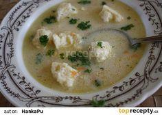 Kedlubnová polévka se sýrovými nočky/VYZKOUŠENO BEZ NOČKŮ