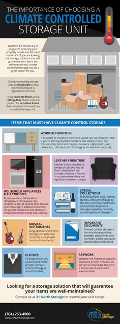 8 Things That Must Have Climate Control Storage