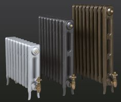 Paladin is a leading cast iron radiator manufacturer here in the UK, who custom-make bespoke column radiators that are all covered by our guarantee. Victorian Radiators, Edwardian House, Victorian Houses, Traditional Radiators, Radiator Heater, Kitchen Conversion, Column Radiators, Georgian Interiors, Cast Iron Radiators