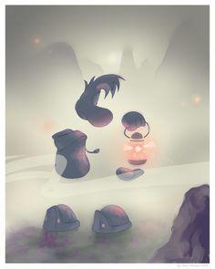 Between heaven and a fog by Fenix-Dream