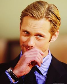 Eric Northman on #TrueBlood played by Alex Skarsgard. He's the primary reason I watch this show. I hope he has a lot of screen time for the last season.