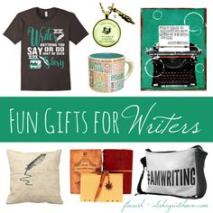 fun gifts for writers