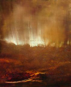 "Saatchi Art Artist: Maurice Sapiro; Oil 2013 Painting ""The Creek, Morning"""