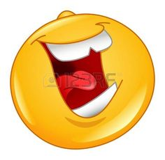 Laughing out loud emoticon photo