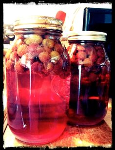 grape juice recipe - must try this with the concord grapes in our backyard
