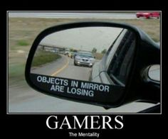 Gamer Mentally… Always Winning #geek