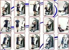 Home gym machine, weight machine workout, cable machine workout, marcy home Weight Machine Workout, Cable Machine Workout, Gym Workout Chart, Workout Routine For Men, Exercise Chart, Push Workout, Workout Plans, Marcy Home Gym, At Home Gym