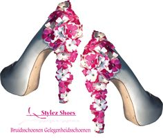 Bijzondere trouwschoenen van Stylez exclusive. Van, Heels, Fashion, Heel, Moda, Fashion Styles, Shoes Heels, Fasion, Vans