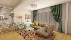 Apartament 2 camere Baneasa - iDecorate Curtains, Home Decor, Insulated Curtains, Homemade Home Decor, Blinds, Draping, Decoration Home, Drapes Curtains, Sheet Curtains