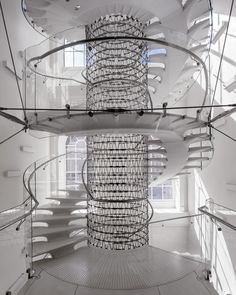 Eva Jiricna stair at Somerset House
