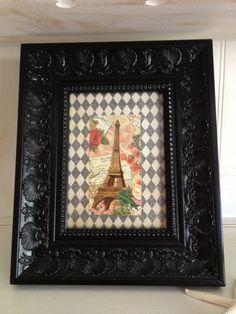 Black Ornate Frame French Chic Black Ornate Frame by NotJustSigns, $28.99
