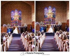 Bride and groom announced in Pymble Chapel - wedding photography sydney