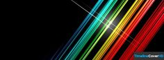Rainbow Lines Facebook Timeline Cover Hd Facebook Covers - Timeline Cover HD