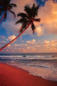 Sri-Lanka, Unawatuna Beach, Sunset | Sri lanka | Pinterest