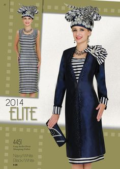 Champagne Elite - Church Suits 2015 Womens church suits With Matching Hats