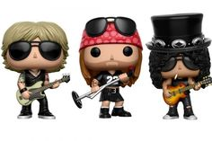 Guns N' Roses Funko Pop! dolls will be released in December 2016.
