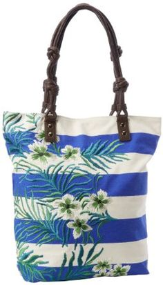 Juicy Couture Canvas Fern Print Tote $92.90