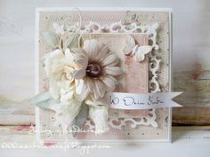 Cream and powder pink - Gallery of handicrafts