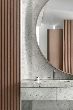 An Interior Renovation Turns Sculptural Work of Art - Design by François Champsaur - Photo by Bernard Touillon.