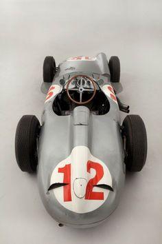 1954 Mercedes-Benz W196R of Juan Manuel Fangio.