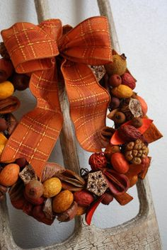 Sweet Something Designs: Potpourri Wreath Tutorial