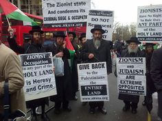 HUMAN RIGHTS – ORTHODOX JEWS DEMAND END TO ZIONIST ATROCITIES IN THE MIDDLE EAST