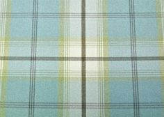 Contemporary tartan design by Porter and Stone in Duck Egg. Shown is a chair we have recently upholstered in the Fabric. Ideal for curtains, blinds, cushions and a variety of other soft furnishing projects.   eBay!