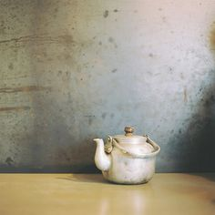 lovely tea pot | antique #vintage patina