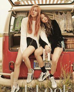 BLACKPINK Rosé & Jennie
