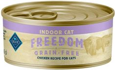 The whole Blue Buffalo Freedom Grain-Free Indoor Wet Meal recette is intended specifically toward senior cats even though it is safe and easily digestible. Omega 3, Diet Cat Food, Good Protein Foods, Senior Cat Food, Grain Free Cat Food, Healthy Fruits And Vegetables, Canned Cat Food, Chicken Recipes, Poultry