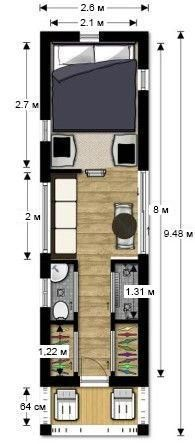 Container House - Plan your own tiny house! tiny house couples floor plan Tiny House Design - Who Else Wants Simple Step-By-Step Plans To Design And Build A Container Home From Scratch? Building A Container Home, Container House Design, Tiny House Design, Tiny House Plans, Tiny House On Wheels, House Floor Plans, Mini Loft, Shipping Container House Plans, Shipping Containers