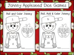 Peace, Love and Learning: Johnny Appleseed Freebies