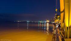 Anoiteceu na bela Estação das Docas em Belém do Pará. #Brasil #noite #belem #para #Estacao