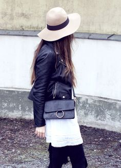 Lace & leather // OUTI HELENA