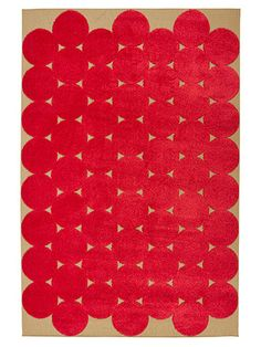 "Graphic rugs liven up a front hall, TV room, playroom, any room. 9'10""x6'7"" PS 2012 rug, $150; ikea.com for stores."