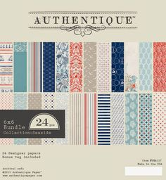 "Authentique Paper: Announcing ""Seaside"" by Authentique Paper"