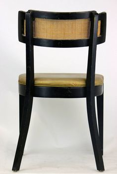 Image result for edward wormley dining chairs cane