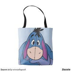 Shop Eeyore 10 tote bag created by winniethepooh. Personalize it with photos & text or purchase as is!