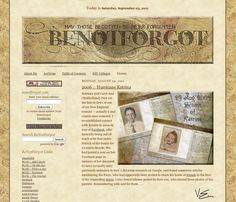 Very good step by step advice on Blogging your Family History.