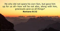 Romans 8:32 - dailyverses.net
