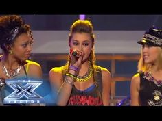 "Sweet Suspense sang ""Mickey"" @Matty Chuah X Factor USA 2013 TOP 12 80's week performance show"