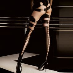 Ballerina Hosiery Lace Luxury tights